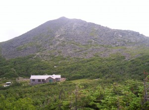 Madison Hut from the north