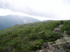 Progressing toward Mount Washington