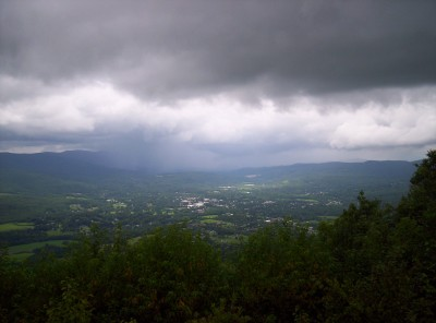 A view to the north from Mount Greylock