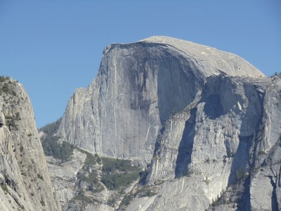 Half Dome seen from Yosemite Valley